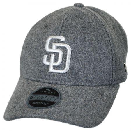 New Era San Diego Padres MLB 'Cashmere' 9Twenty Strapback Baseball Cap Dad Hat