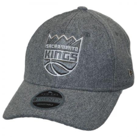 New Era Sacramento Kings NBA 'Cashmere' 9Twenty Strapback Baseball Cap Dad Hat