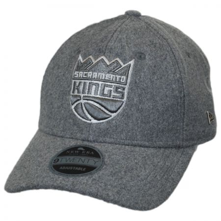 New Era Sacramento Kings NBA 'Cashmere' 9Twenty Strapback Baseball Cap