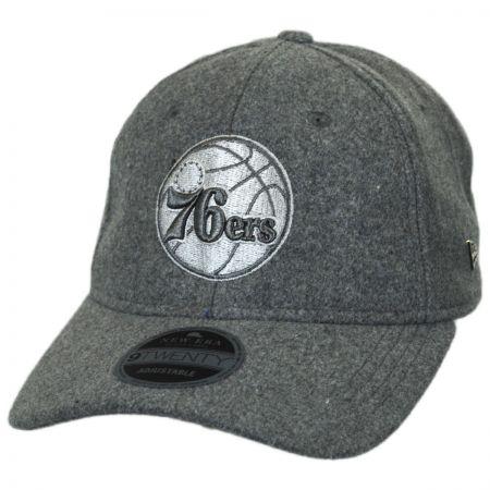 New Era Philadelphia 76ers NBA 'Cashmere' 9Twenty Strapback Baseball Cap Dad Hat