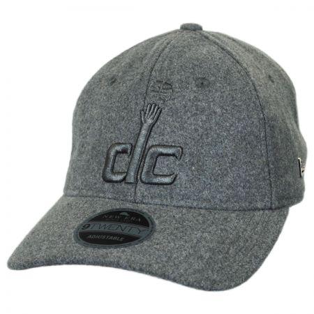 New Era Washington Wizards NBA 'Cashmere' 9Twenty Strapback Baseball Cap Dad Hat