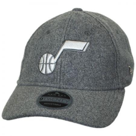 New Era Utah Jazz NBA 'Cashmere' 9Twenty Strapback Baseball Cap