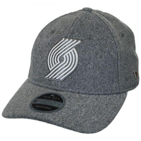 dc6c9dc72a6 New Era Portland Trail Blazers NBA  Cashmere  9Twenty Strapback Baseball Cap  Dad Hat