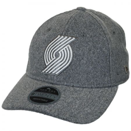 New Era Portland Trail Blazers NBA 'Cashmere' 9Twenty Strapback Baseball Cap