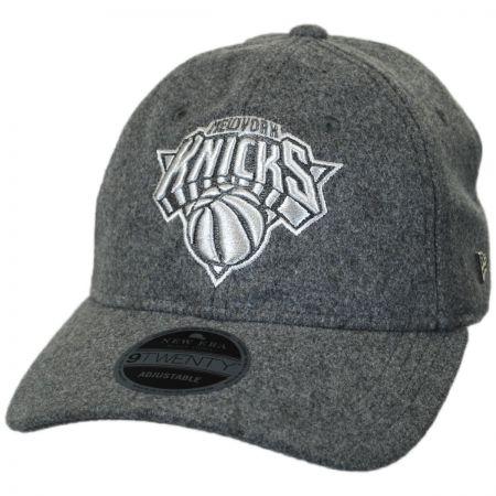 New York Knicks NBA 'Cashmere' 9Twenty Strapback Baseball Cap Dad Hat