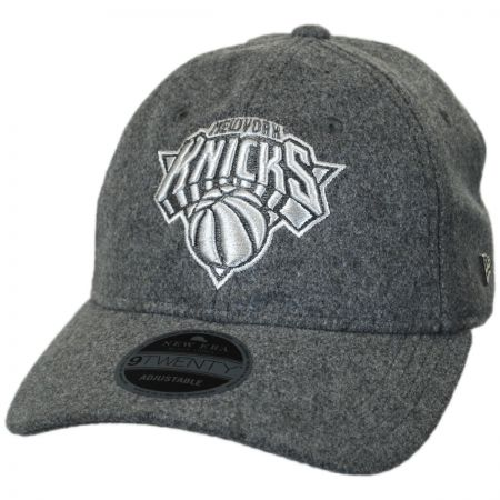 New Era New York Knicks NBA 'Cashmere' 9Twenty Strapback Baseball Cap