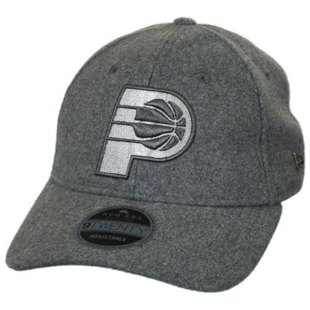 New Era Indiana Pacers NBA 'Cashmere' 9Twenty Strapback Baseball Cap