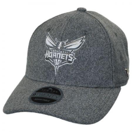 New Era Charlotte Hornets NBA 'Cashmere' 9Twenty Strapback Baseball Cap