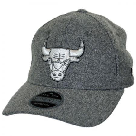 New Era Chicago Bulls NBA 'Cashmere' 9Twenty Strapback Baseball Cap