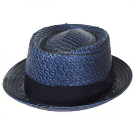 Remick Toyo Straw Pork Pie Hat