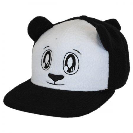Neff Panda Furry Snapback Baseball Cap