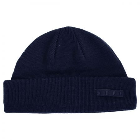 Neff Mini Fisherman Knit Beanie Hat