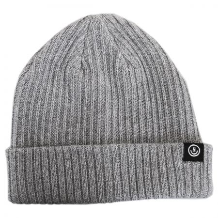 Neff Fisherman Rib Knit Beanie Hat