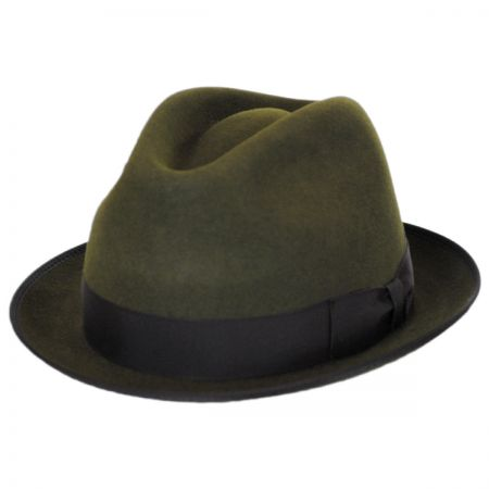 Alex Fur Felt Stingy Brim Fedora Hat alternate view 1