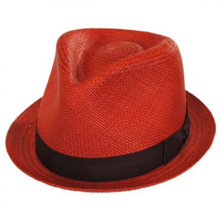 Red Fedora Hat at Village Hat Shop 226b4c78dec