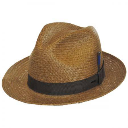 Cosmo Toyo LiteStraw Trilby Fedora Hat