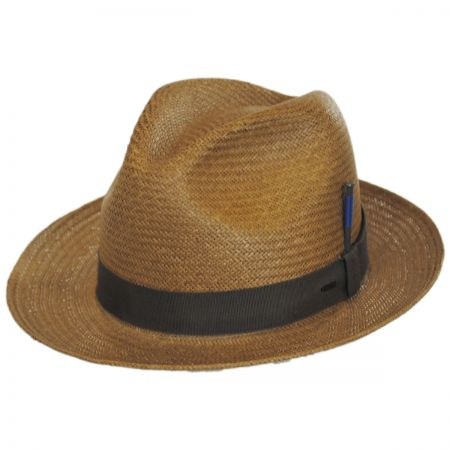 Cosmo Toyo LiteStraw Trilby Fedora Hat alternate view 1