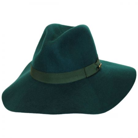 Joanne Wide Brim Wool Felt Fedora Hat alternate view 1