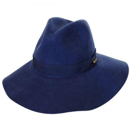 Joanne Wide Brim Wool Felt Fedora Hat alternate view 4