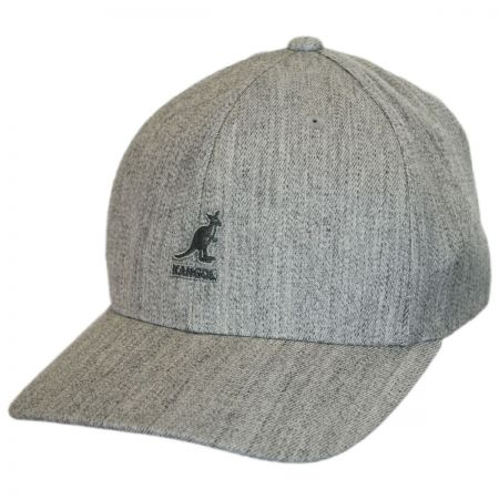 Logo Wool FlexFit Fitted Baseball Cap alternate view 53