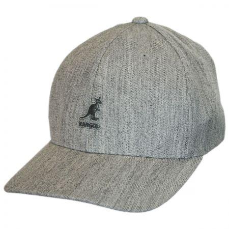Logo Wool FlexFit Fitted Baseball Cap alternate view 81