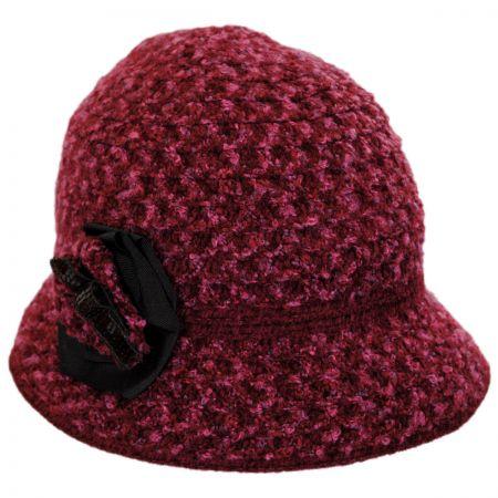 Betmar Willow Knit Cloche Hat