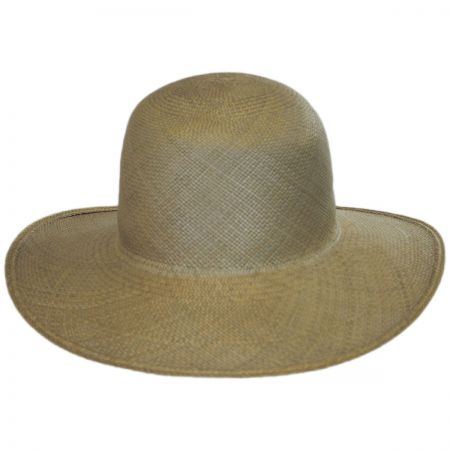 Panama Straw Floppy Hat alternate view 2