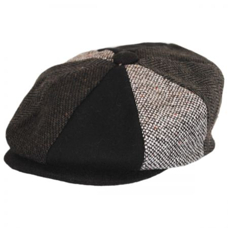 Wool Brown Newsboy Cap at Village Hat Shop f8d584ad152