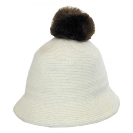 Pom Knit Wool Bucket Hat alternate view 7