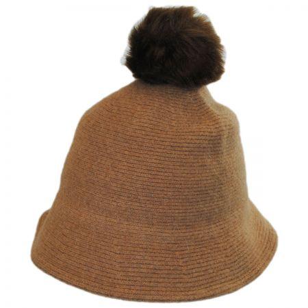 Pom Knit Wool Bucket Hat alternate view 10