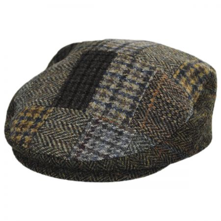 Cheesecutter Patchwork English Wool Tweed Ivy Cap alternate view 21