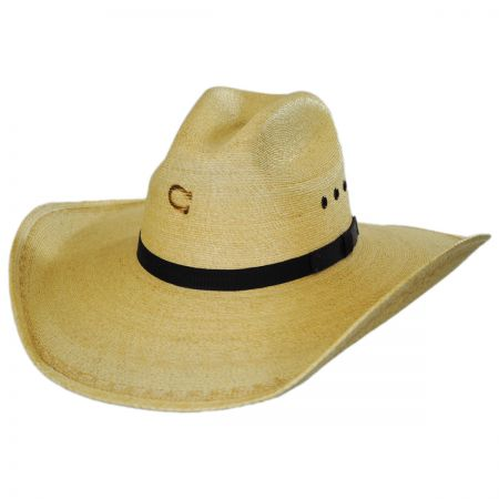 Maverick Palm Leaf Straw Western Hat alternate view 1