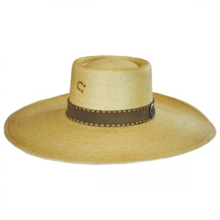Vaquera Palm Leaf Straw Bolero Hat