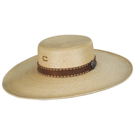 Charlie 1 Horse Vaquera Palm Leaf Straw Bolero Hat