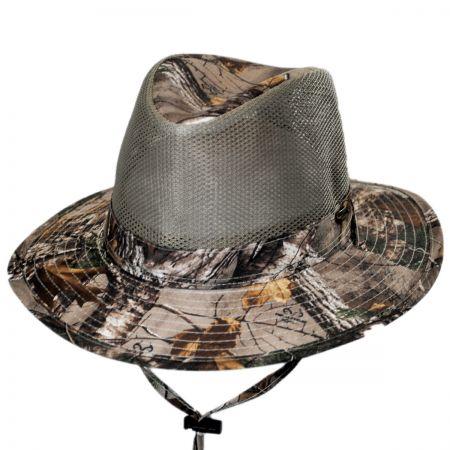 Stetson NFZ Mesh Safari Fedora Hat