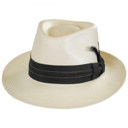 Bailey Anderson Shantung LiteStraw Fedora Hat