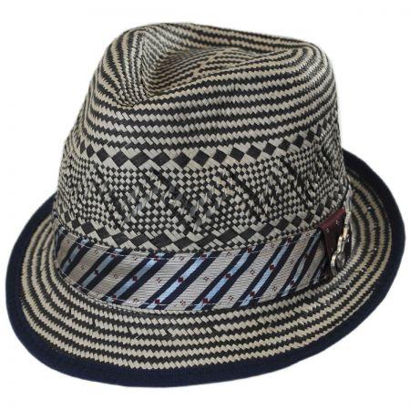 Carlos Santana Degree Toyo Straw Trilby Fedora Hat
