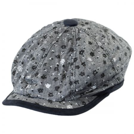 Denim Newsboy Cap at Village Hat Shop 280c2731953