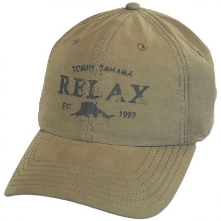 Relax Strapback Baseball Cap Dad Hat alternate view 1