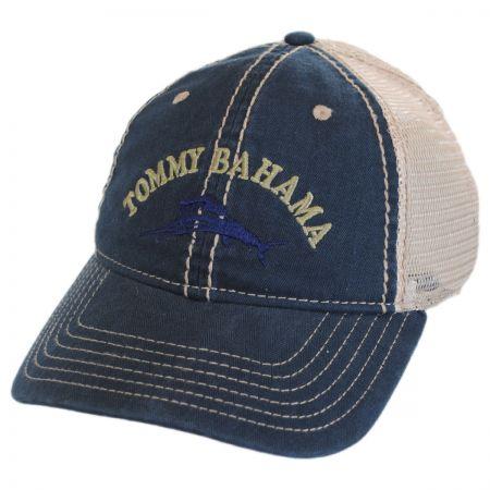 Tommy Bahama Classic Mesh Trucker Strapback Baseball Cap Dad Hat