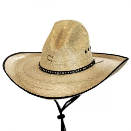 Bandito Palm Leaf Straw Gus Hat alternate view 1