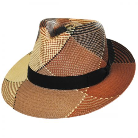 Giger Panama Straw Fedora Hat alternate view 11