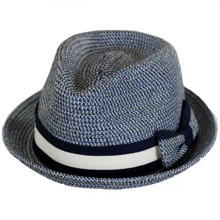 Joanne Toyo Straw Trilby Fedora Hat alternate view 1