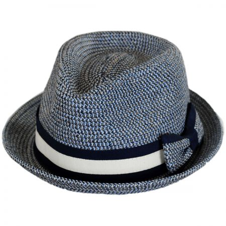6c8bf9db718 Denim Fedora at Village Hat Shop