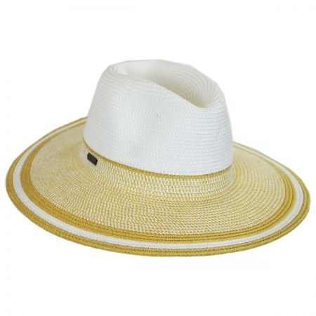 Porto Toyo Straw Wide Brim Fedora Hat alternate view 5