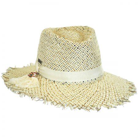 Monterey Toyo Straw Fedora Hat