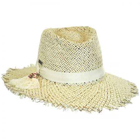 Betmar Monterey Toyo Straw Fedora Hat