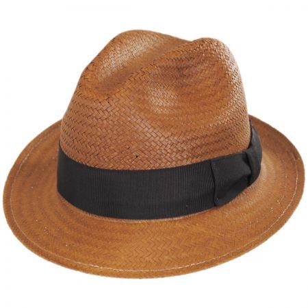 Bailey Lando Toyo LiteStraw Fedora Hat
