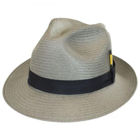 Cosmo Toyo LiteStraw Trilby Fedora Hat alternate view 6