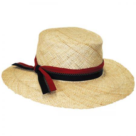 Brooklyn Hat Co Boathouse Bao Straw Boater Hat